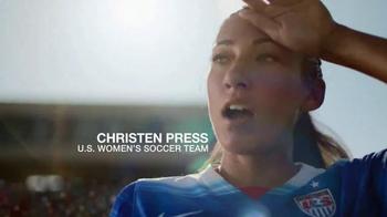 Coppertone Sport TV Spot, 'Soccer' Featuring Christen Press - Thumbnail 4