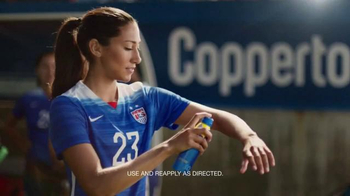 Coppertone Sport TV Spot, \'Soccer\' Featuring Christen Press