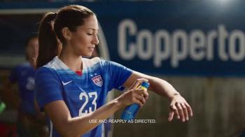 Coppertone Sport TV Spot, 'Soccer' Featuring Christen Press - 4497 commercial airings