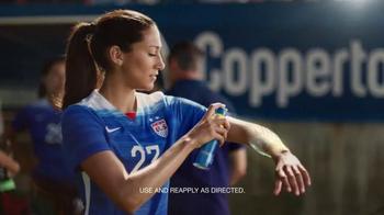 Coppertone Sport TV Spot, 'Soccer' Featuring Christen Press - Thumbnail 6