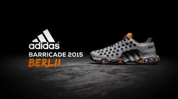 Tennis Warehouse TV Spot, 'adidas Barricade 2015 Berlin Wall' - Thumbnail 5