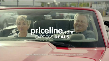 Priceline.com TV Spot, 'Wheels' Featuring William Shatner, Kaley Cuoco - Thumbnail 9