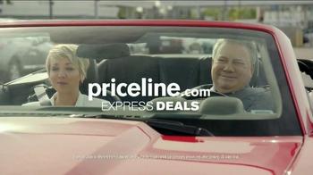 Priceline.com TV Spot, 'Wheels' Featuring William Shatner, Kaley Cuoco - Thumbnail 10