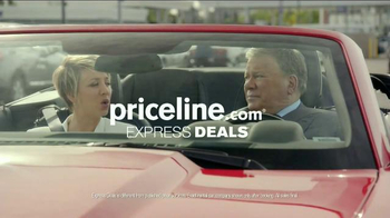 Priceline.com TV Spot, 'Wheels' Featuring William Shatner, Kaley Cuoco - Thumbnail 8