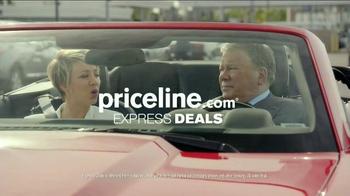 Priceline.com TV Spot, 'Wheels' Featuring William Shatner, Kaley Cuoco - Thumbnail 9