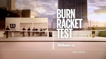Wilson TV Spot, 'Burn Racket Test' Featuring Kei Nishikori - Thumbnail 1