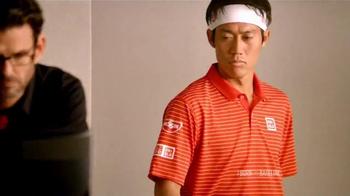 Wilson TV Spot, 'Burn Racket Test' Featuring Kei Nishikori - Thumbnail 2