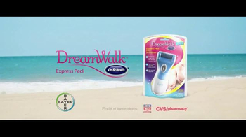 Dr. Scholl's Dream Walk Express Pedi TV Spot, 'Beach' - Thumbnail 5