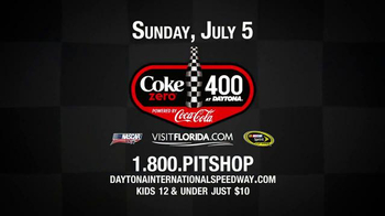 Daytona International Speedway TV Spot, 'Coke Zero 400 is Rising'