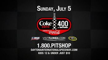 Daytona International Speedway TV Spot, 'Coke Zero 400 is Rising'
