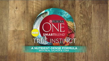 Purina One True Instinct TV Spot, 'Real Salmon' - Thumbnail 4
