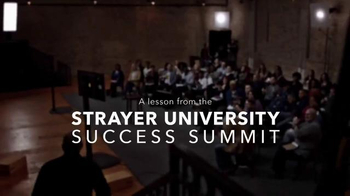 Strayer University TV Spot, 'Change' Featuring Steve Harvey - Thumbnail 1