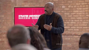Strayer University TV Spot, 'Change' Featuring Steve Harvey