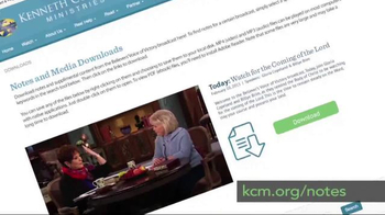 Kenneth Copeland Ministries TV Spot, 'BVOV Broadcast Study Notes' - Thumbnail 1