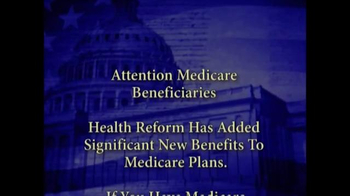 Medicare Health Reform Hotline TV Spot, 'Significant Benefits' - Thumbnail 1