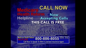 Medicare Health Reform Hotline TV Spot, 'Significant Benefits' - Thumbnail 10