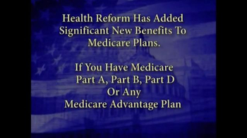 Medicare Health Reform Hotline TV Spot, 'Significant Benefits' - Thumbnail 2