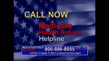 Medicare Health Reform Hotline TV Spot, 'Significant Benefits' - Thumbnail 4