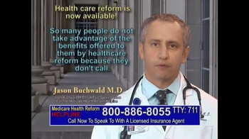 Medicare Health Reform Hotline TV Spot, 'Significant Benefits'