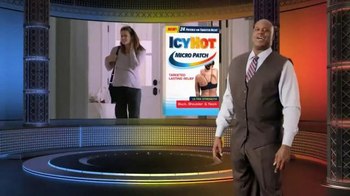 Icy Hot Micro Patch TV Spot, 'Big Relief, Small Patch' Ft. Shaquille O'Neal - 1415 commercial airings