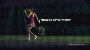 Midwest Sports TV Spot, 'Footwear and Rackets' - Thumbnail 2
