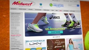 Midwest Sports TV Spot, 'Footwear and Rackets' - Thumbnail 6