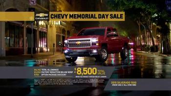 Chevy Memorial Day Sale TV Spot, 'Four New Silverado Special Editions' - Thumbnail 6