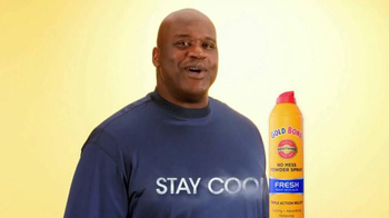 Gold Bond Powder Spray TV Spot, 'Smell as Good as I Look' Featuring Shaq - Thumbnail 10