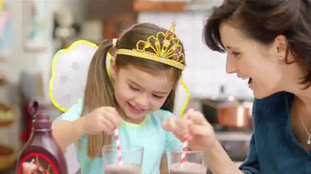 Hershey's Syrup TV Spot, 'Sharing Chocolate Milk With a Fairy' - Thumbnail 3