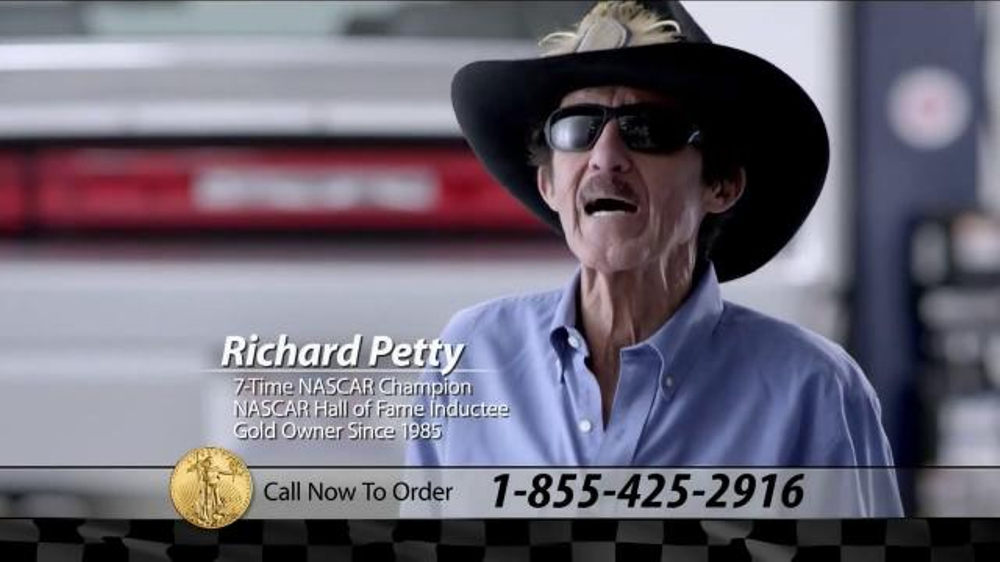 U.S. Money Reserve TV Commercial, 'Best Gold' Featuring Richard Petty