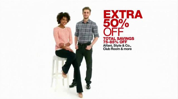 Macy's One Day Sale May 2015 TV Spot, 'Jewelry, Ties, Bags' - 200 commercial airings