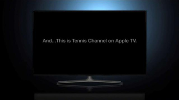 Tennis Channel Everywhere TV Spot, 'Now Playing on Apple TV' - Thumbnail 1