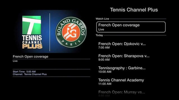 Tennis Channel Everywhere TV Spot, 'Now Playing on Apple TV' - Thumbnail 5