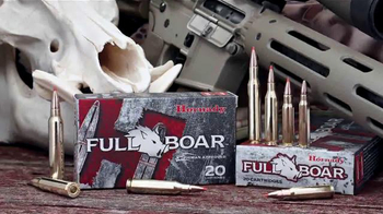 Hornady Full Boar TV Spot, 'Tough'