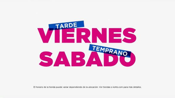 Kohl's Venta de Amigos y Familiares TV Spot, 'Día de la Madre' [Spanish] - Thumbnail 6