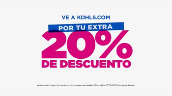 Kohl's Venta de Amigos y Familiares TV Spot, 'Día de la Madre' [Spanish] - Thumbnail 7