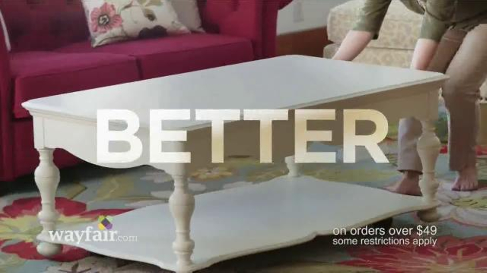 Swell Wayfair Tv Commercial Fast And Free Shipping Video Uwap Interior Chair Design Uwaporg