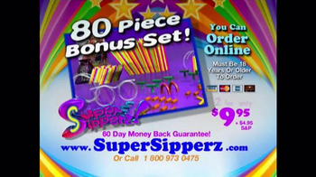 Super Sipperz TV Spot, 'Straw Fun' - Thumbnail 8