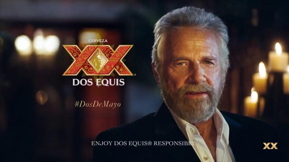 dos equis ad Jonathan goldsmith, 78, rose to fame as the spokesman for the beer brand dos equis, known for his tv-ad tagline, i don't always drink beer, but when i do, i prefer dos equis since his debut as the face of the brand in 2007, goldsmith has become something of a cultural icon he helped dos equis.