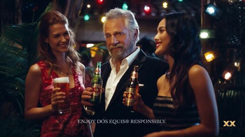 Dos Equis TV Spot, 'The Most Interesting Man in the World on Cinco de Mayo' - 5715 commercial airings