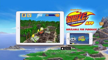 Nickelodeon Blaze and the Monster Machines App TV Spot, 'New Features' - Thumbnail 10