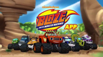 Nickelodeon Blaze and the Monster Machines App TV Spot, \'New Features\'