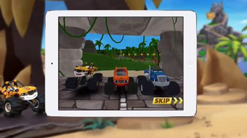 Nickelodeon Blaze and the Monster Machines App TV Spot, 'New Features' - Thumbnail 3