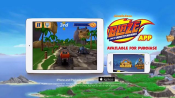 Nickelodeon Blaze and the Monster Machines App TV Spot, 'New Features' - Thumbnail 8