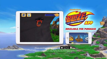Nickelodeon Blaze and the Monster Machines App TV Spot, 'New Features' - Thumbnail 9