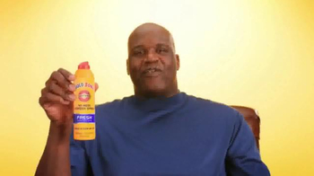Gold Bond Powder Spray TV Spot, 'Side Effects' Featuring Shaquille O'Neal - Thumbnail 1