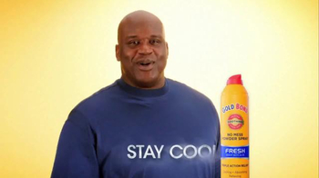 Gold Bond Powder Spray TV Spot, 'Side Effects' Featuring Shaquille O'Neal - Thumbnail 10