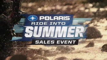 Polaris Ride Into Summer Sales Event TV Spot, 'Huge Rebates' - Thumbnail 2