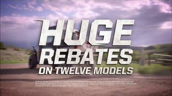 Polaris Ride Into Summer Sales Event TV Spot, 'Huge Rebates' - Thumbnail 3