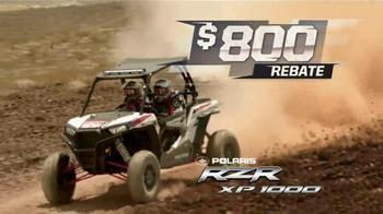 Polaris Ride Into Summer Sales Event TV Spot, 'Huge Rebates' - Thumbnail 8